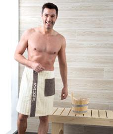 saunaseelik meeste nat.valge